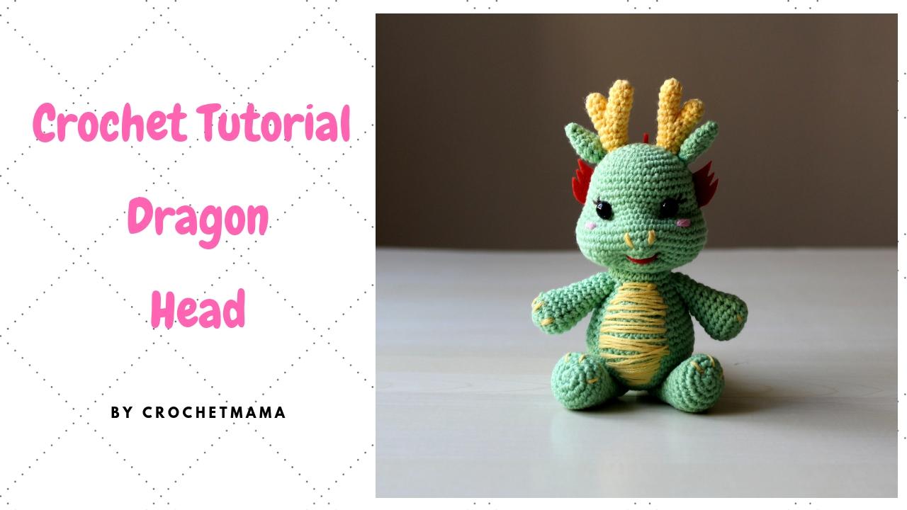 Dragon Amigurumi Tutorial   Free Crochet Pattern   Open Mouth ...   720x1280