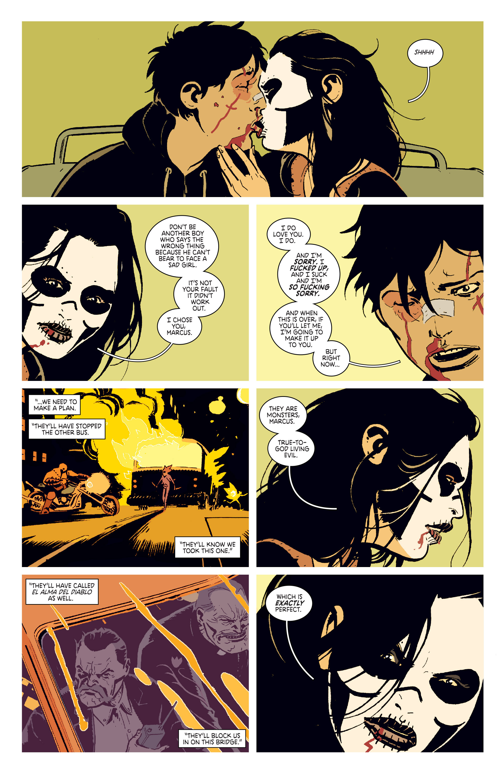 Read online Deadly Class comic -  Issue # _TPB 3 - 20