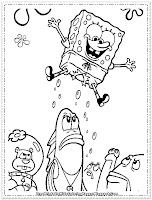 spongebob coloring pages that you can print