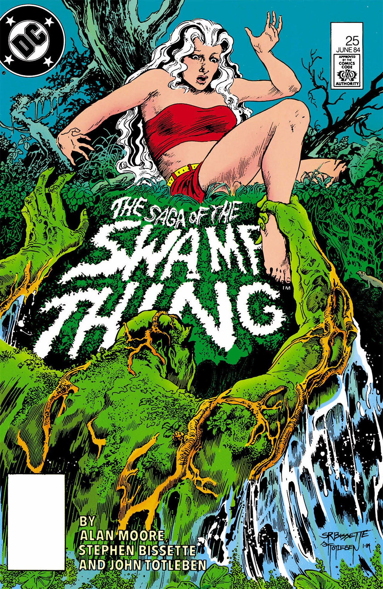 Swamp Thing (1982) Issue #25 #33 - English 1