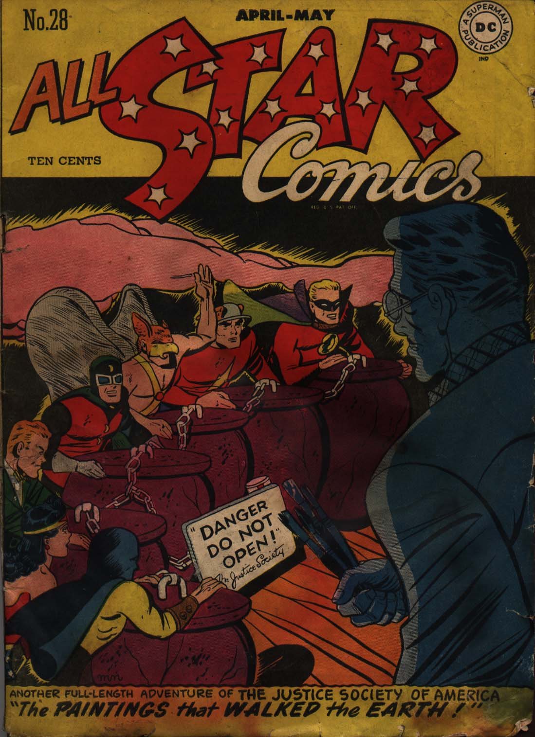 Read online All-Star Comics comic -  Issue #28 - 1