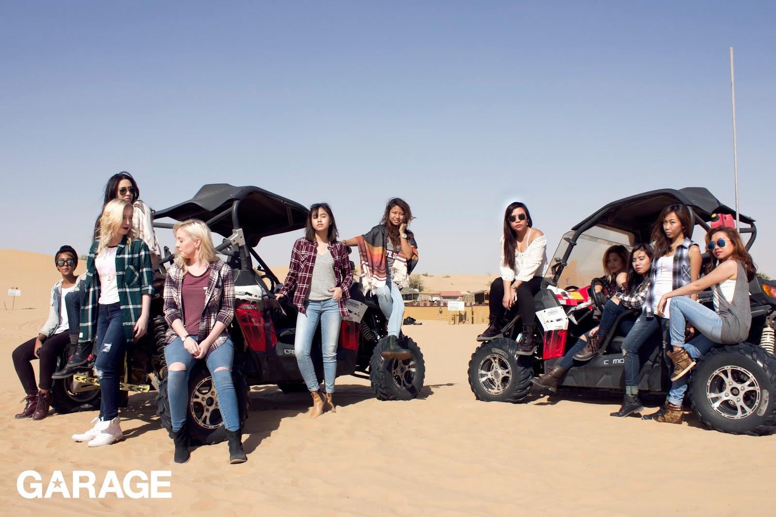 Desert in December - Garage Giveaway Tour In Dubai - The
