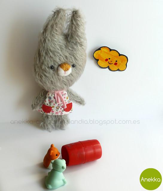 bunny mohair anekka handmade