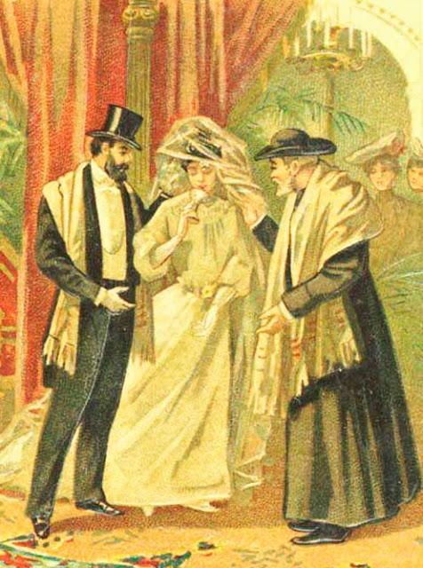 A taça de vinho, casamento judeu