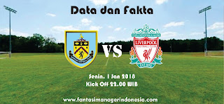 Data dan Fakta Fantasy Premier League Burnley vs Liverpool Fantasy Manager Indonesia