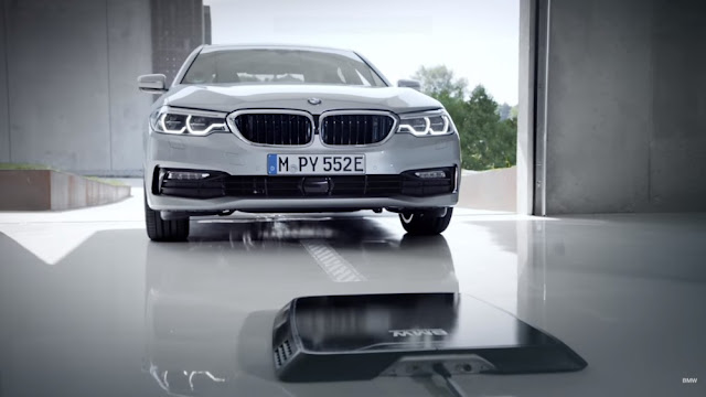 BMW introduces a wireless charger for plug-in Hybrid 530e iPerformance