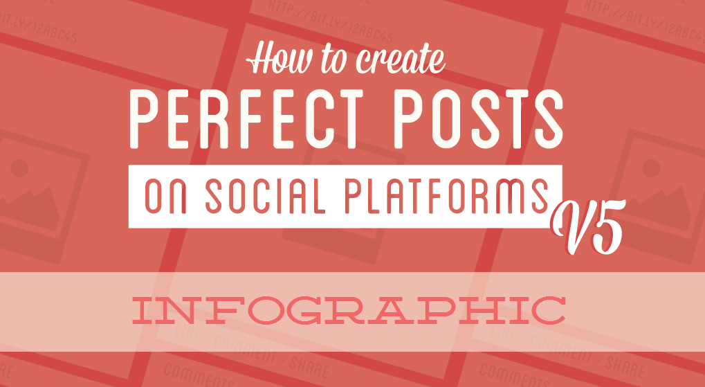 how to go viral on social media by writing a perfect post - infographic