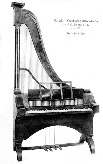 photograph of 1821 Claviharpe