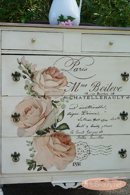 redesign by prima vintage french postal dresser makeover before and after diy