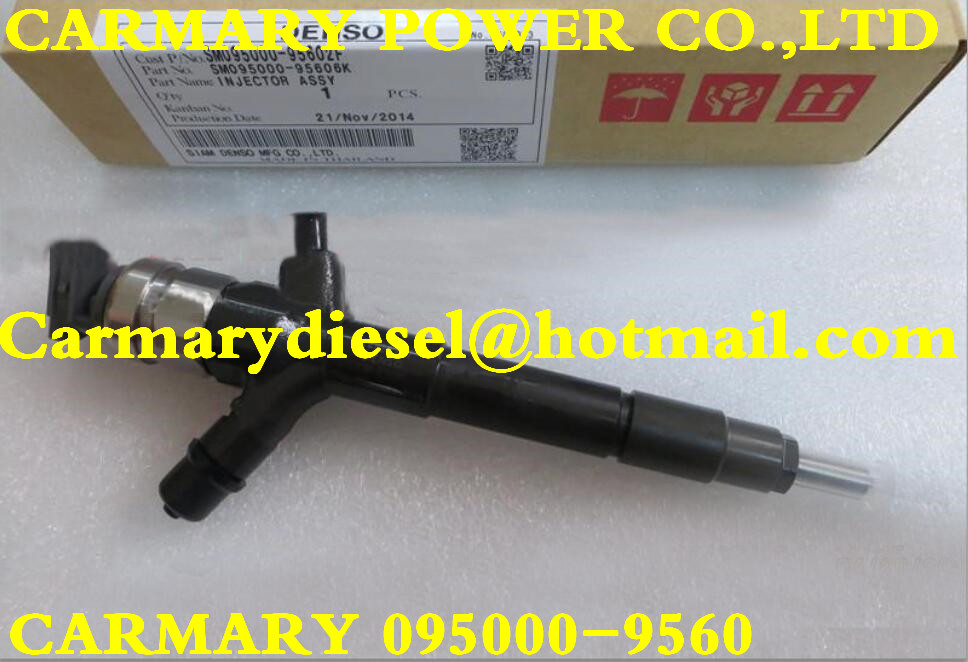 Genuine and New Fuel Injector 095000-9560 for Mits//ub--ishi 4D56