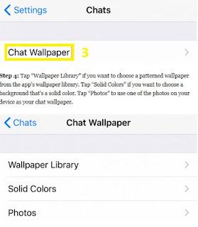 Cara Mengganti Latar Belakang Obrolan WhatsApp Oh Gini, Cara Ganti Latar Belakang Obrolan WA / WhatsApp