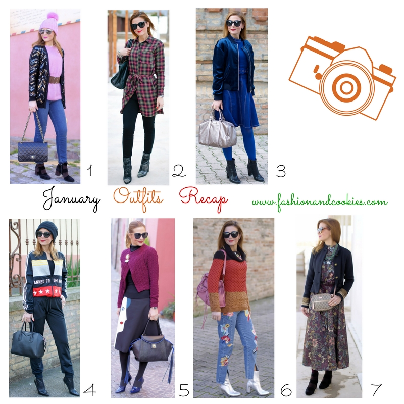 Welcome, february! January fashion recap on Fashion and Cookies fashion blog, fashion blogger style