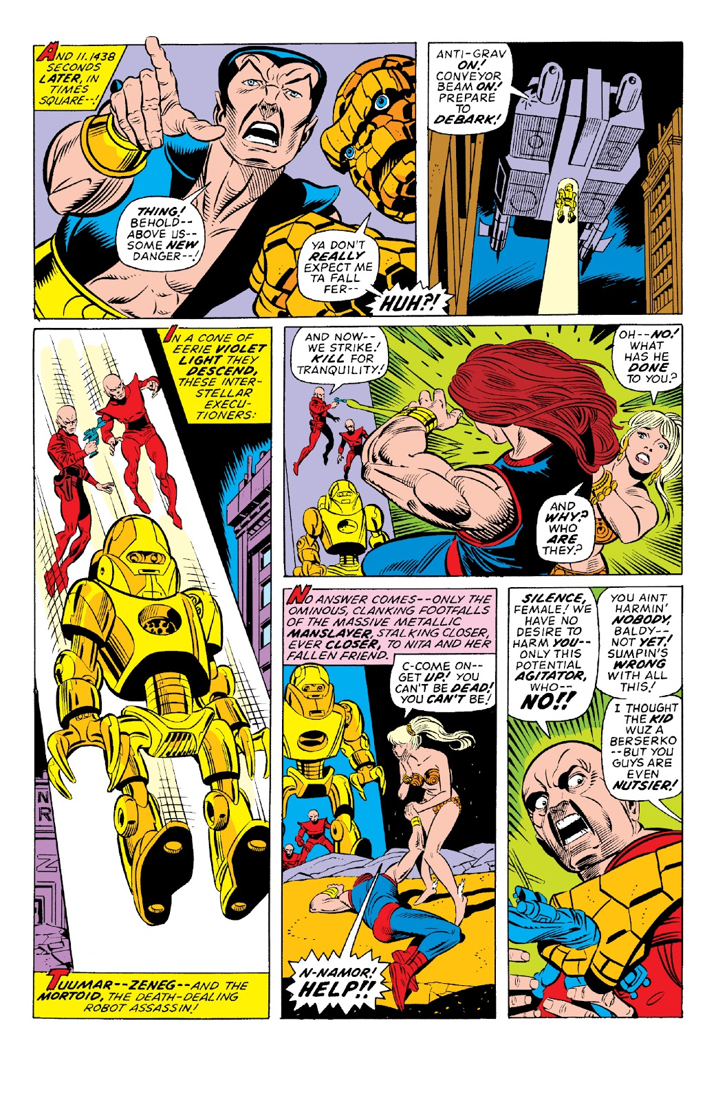 Read online Marvel Two-In-One Epic Collection: Cry Monster comic -  Issue # TPB (Part 1) - 81
