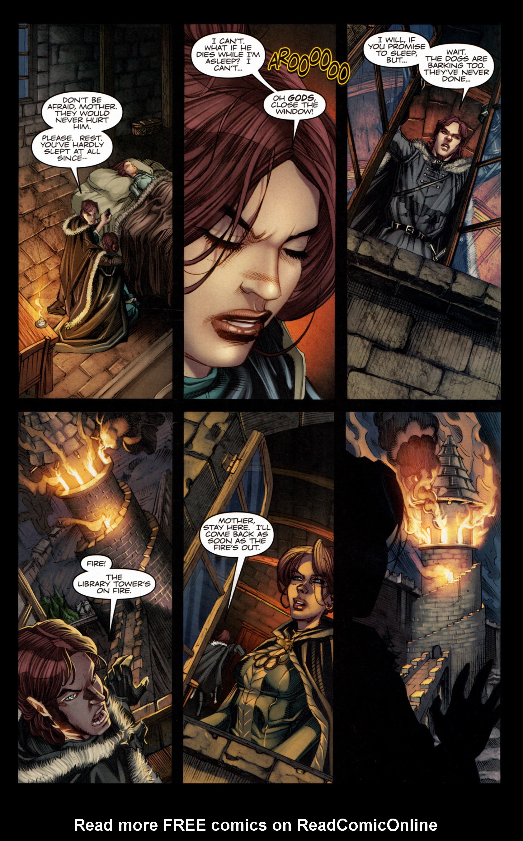 Read online A Game Of Thrones comic -  Issue #4 - 23