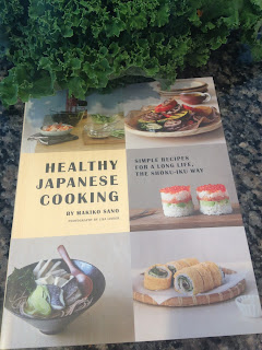 Healthy Japanese Cooking, Book Review, Kale Salad in Thermomix