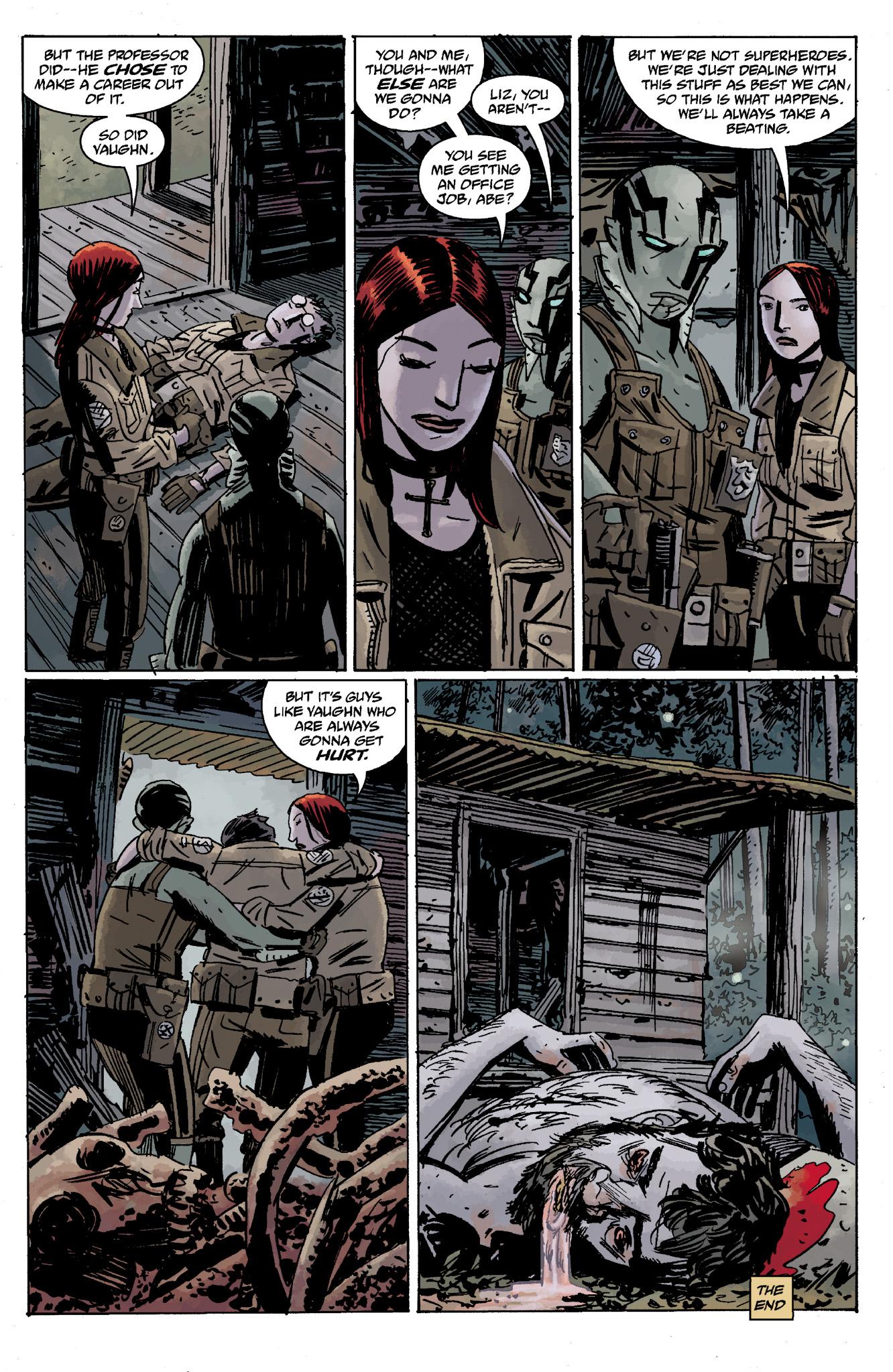 Read online Abe Sapien comic -  Issue #13 - 34