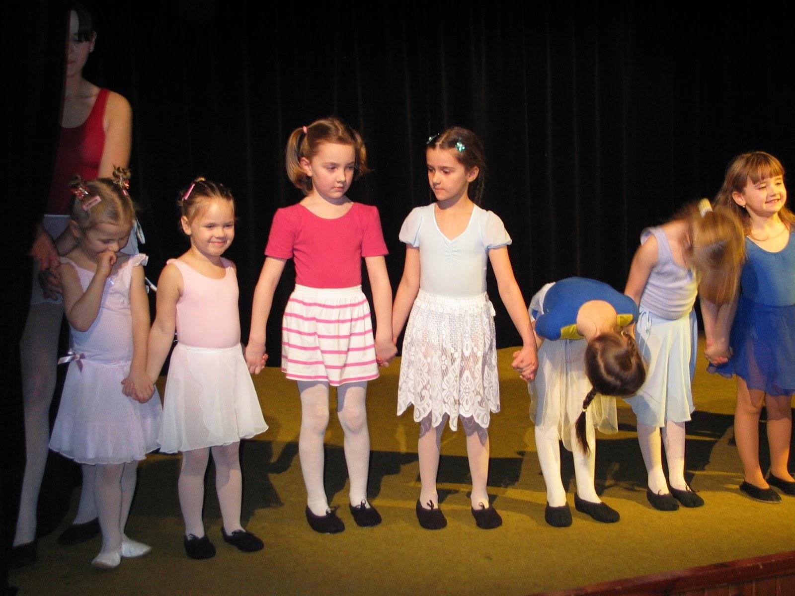 dětské baletní vystoupení