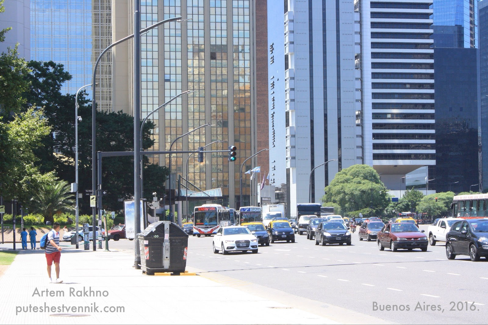 Небоскребы в Буэнос-Айресе