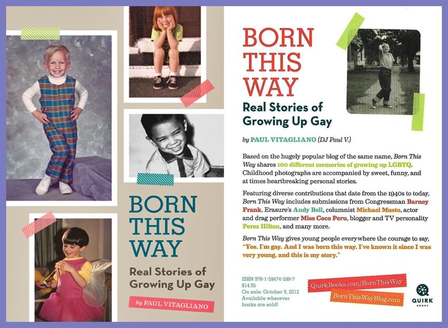"Born This Way Book. """