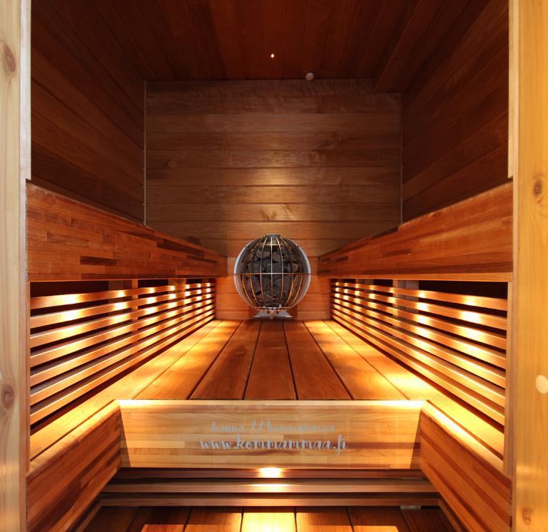 sauna pallokiuas