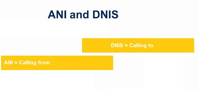 DNIS and ANI