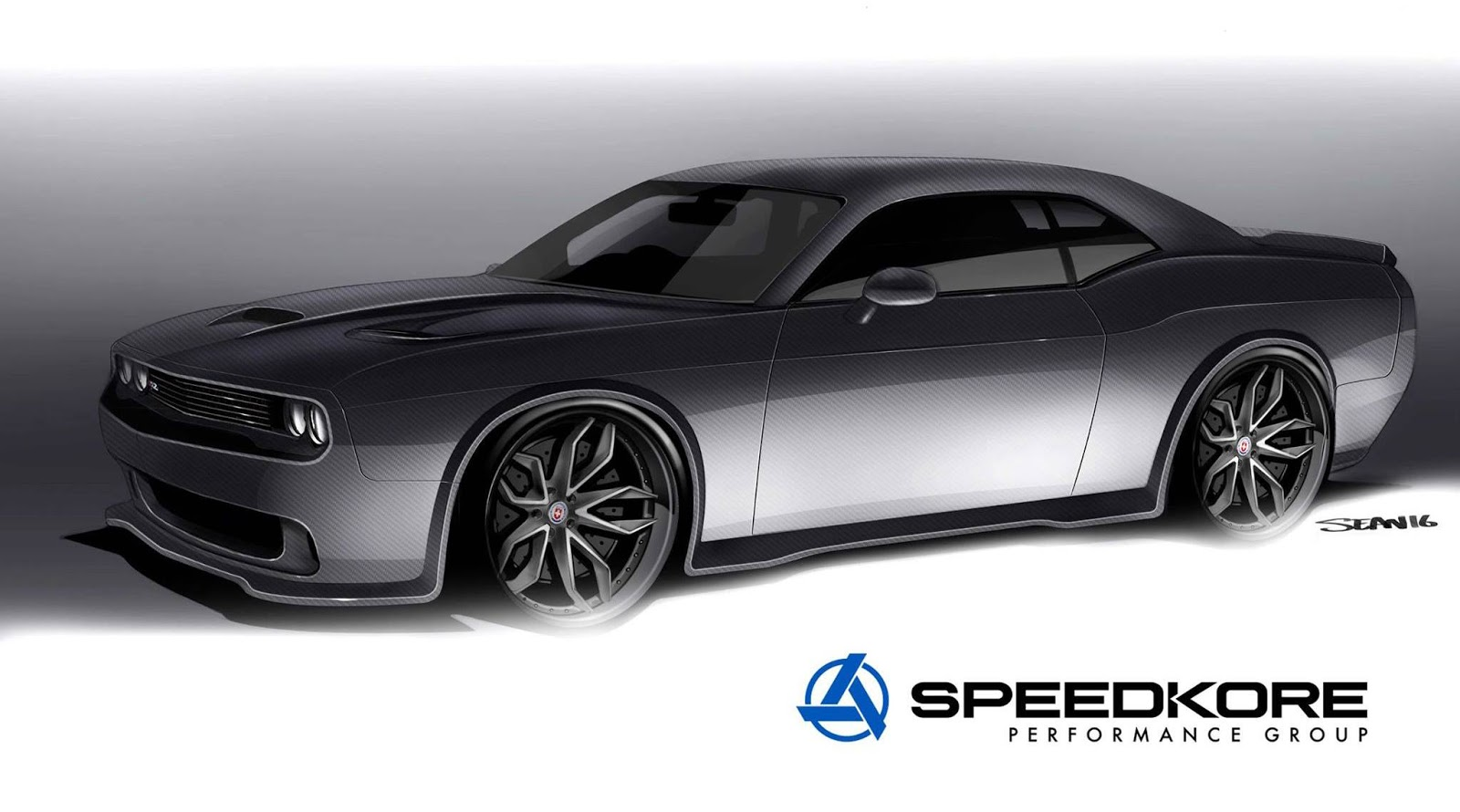 Speedkore S Full Carbon Muscle Cars Stun At Sema