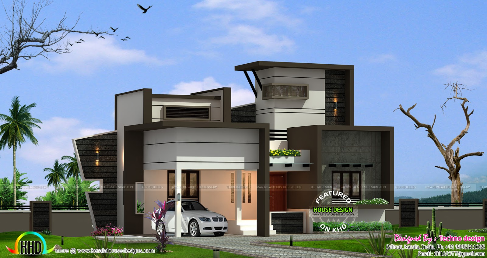 April 2016 kerala home design and floor plans for Top 50 modern house design