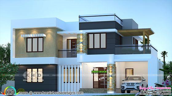 Modern house plan 2150 square feet