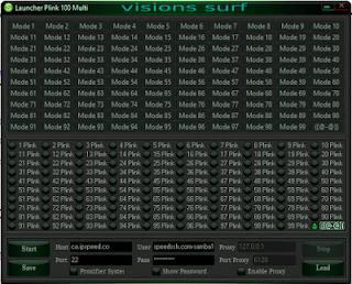 configuration exdtreme plink100
