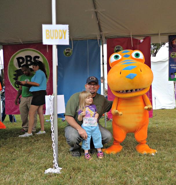 Dinosaur Train, PBS Kids, Library of Congress National Book Festival
