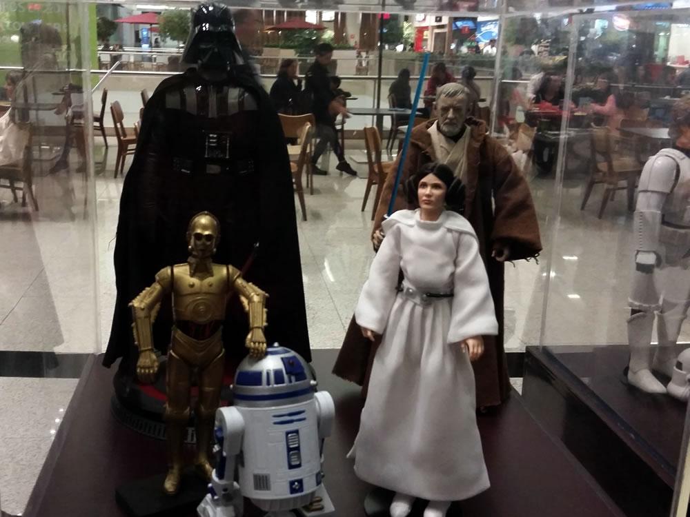 exposição Star Wars Porto Alegre