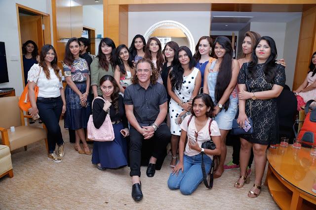 Mumbai bloggers with Wella Professionals Global Ambassador Patrick Cameron