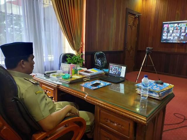 Hendra Lesmana Lakukan Silahturahmi dengan Para Pejabat Seluruh Lamandau