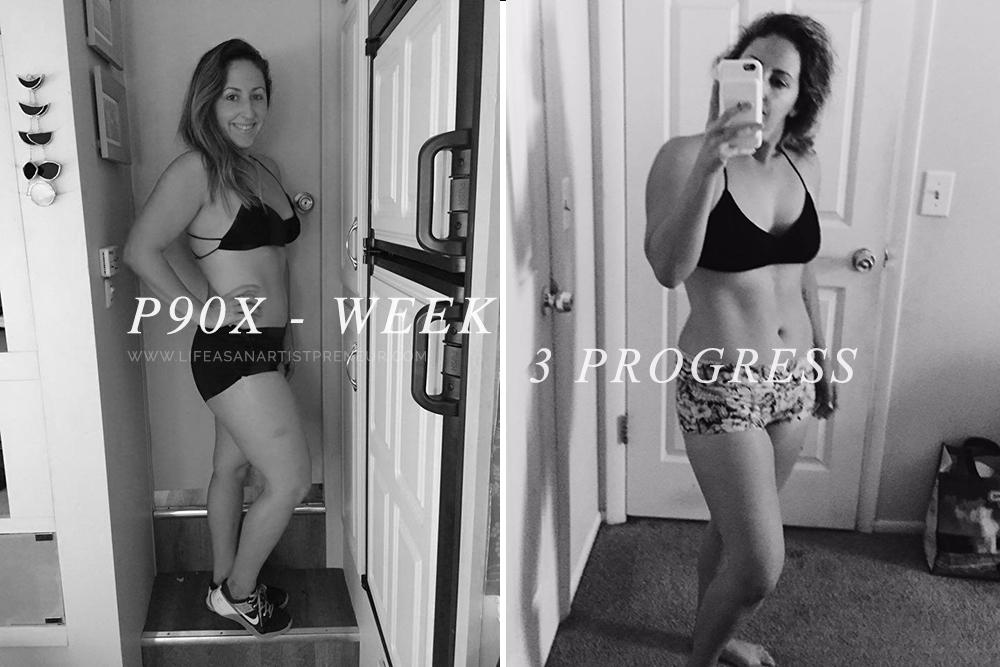 p90x progress success