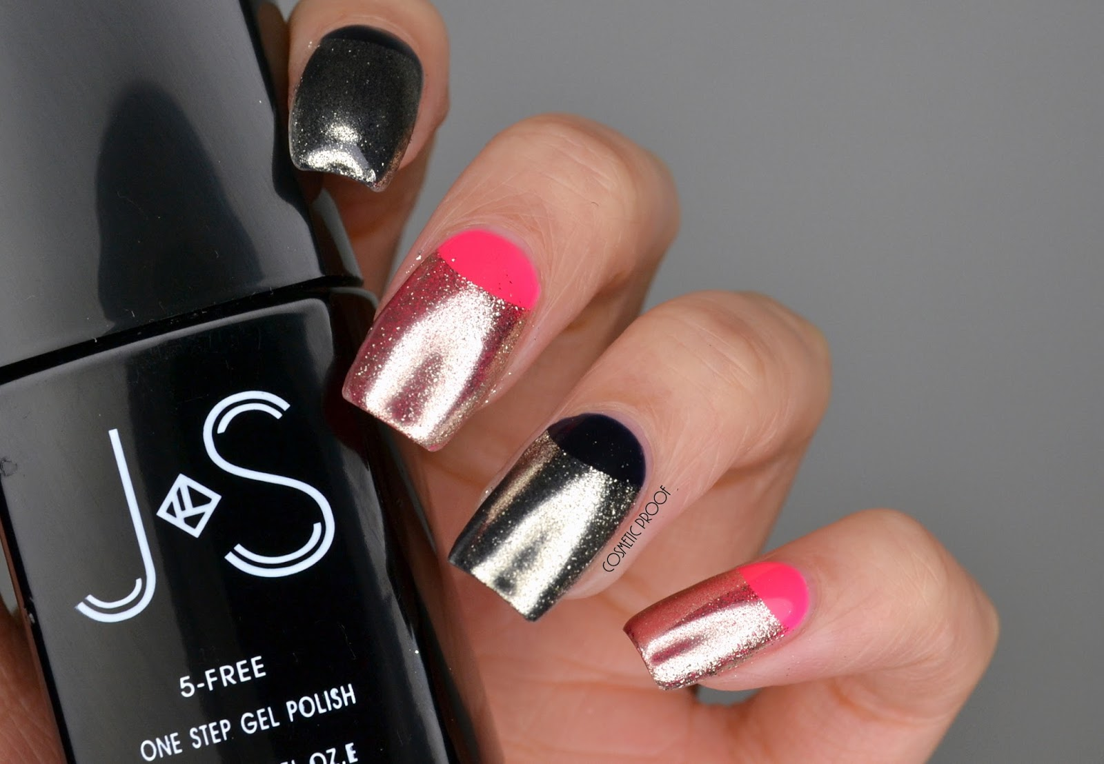 NAILS | Chrome Half Moon Gel Manicure #ManiMonday | Cosmetic Proof ...