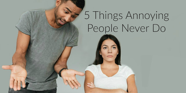 5 Things that annoying Christians never do and why we should do them! a 1-minute devotion from #BibleLoveNotes #Bible