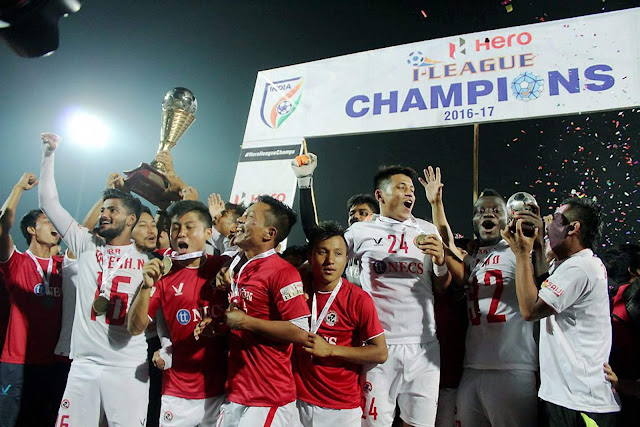 Defending I-League Champions Aizawl FC tie up with Rooter for fan engagement