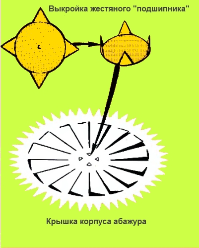 Крышка корпуса абажура
