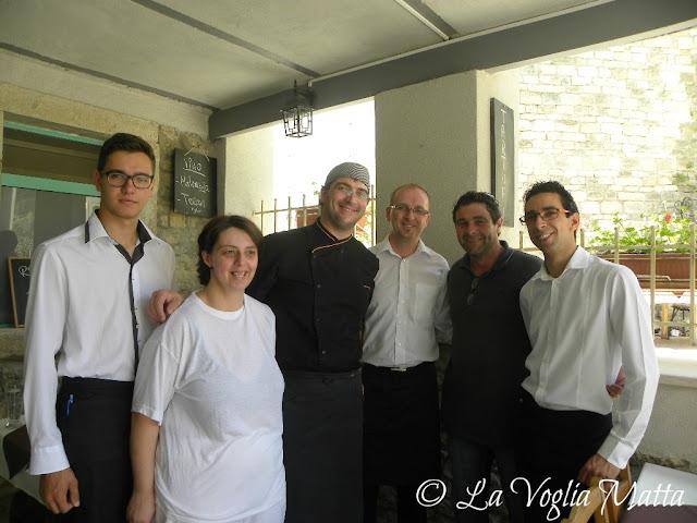 """Konoba """"Mondo"""" Montona Istria lo staff"""