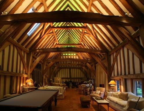 Open Ceiling Lighting Interior