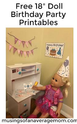 """free 18"""" doll printables"""