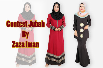 Contest Jubah By Zaza Iman