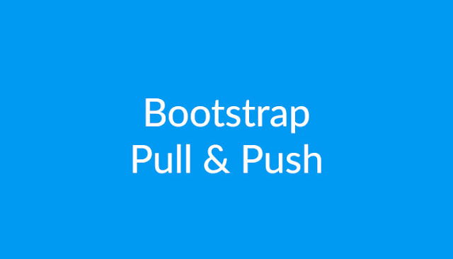 Bootstrap Pull & Push : Devil Coded