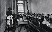 NYC classroom, 1890