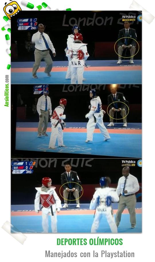 Chiste de Playstation y Deportes Olímpicos