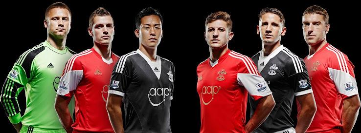 Southampton 13-14 (2013-14) Home And Away Kits Released