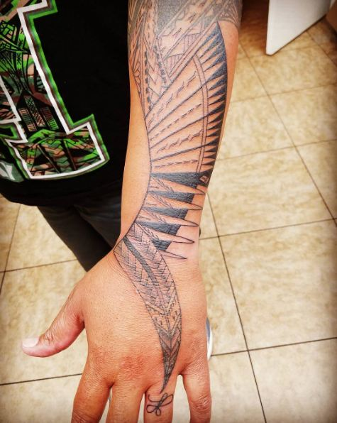 Tribal Tattoos For Women Arm