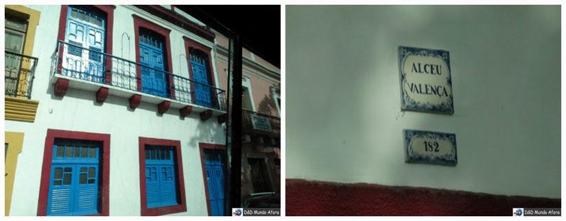 Casa de Alceu valença em Olinda Pernambuco
