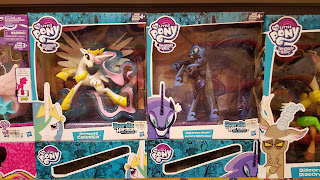 MLP Princess Celestia, Nightmare Moon and Discord Guardians of Harmony Fan Series Figures at TRU Philippines