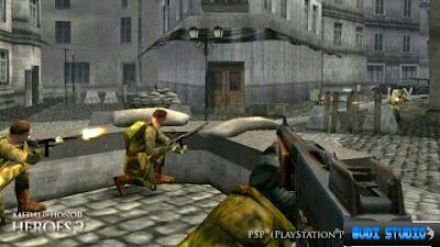 Medal Of Honor: Heroes 2 PPSSPP Android 2